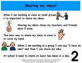 Sharing My Ideas - Social Story