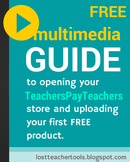 GUIDE to opening your TPT store & uploading your first FREE product