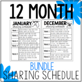 Sharing Prompts For The Entire Year  BUNDLE