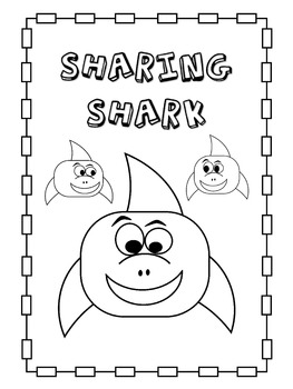 Sharing Shark - Student Success Skills/Character Traits Lesson