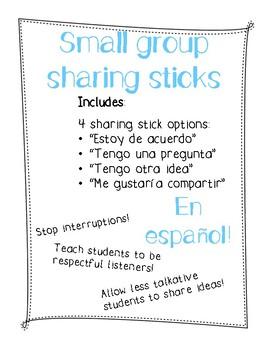 Sharing Sticks