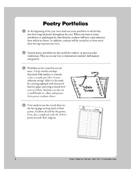 Sharing Student-Authored Poetry