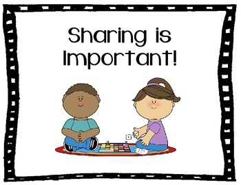 Sharing & Taking Turns Social Story