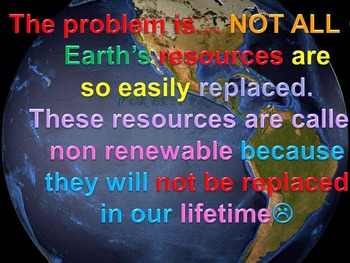 Renewable and Nonrenewable Resources (animated)