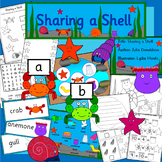 Sharing a Shell book study activity pack- seaside, Under the Sea