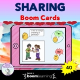 Sharing and Generosity Boom Cards