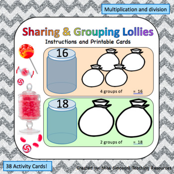 Sharing and Grouping Lollies