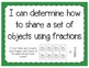 Sharing with Fractions Interactive Notebook Activity & Quick Check TEKS 3.3E