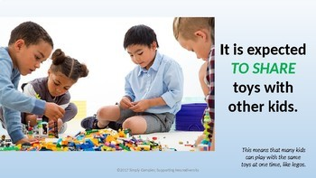 Sharing with Others; Sharing Toys; Expected Behaviors for Play