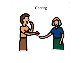 Sharing with people