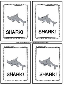 Shark! A 2-Digit Subtraction With Regrouping Game & Task Cards