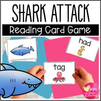 Shark! A CVC Reading Fluency Card Game