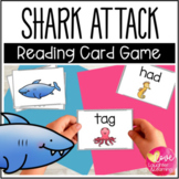 Shark! A CVC Reading Fluency Card Game