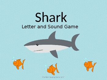 Shark Letter and Sound Game { Alphabet Game }