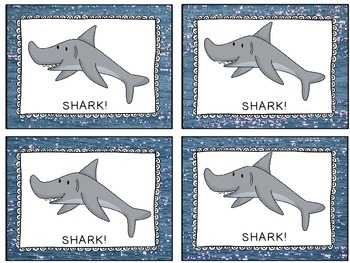 Shark: A Nonsense Words Fluency Game
