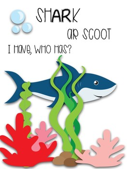 Shark- AR Word Scoot and I Have, Who Has?
