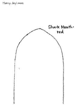 Shark Acrostic Poem Freebie