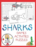 Shark Activities and Puzzles