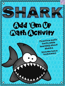 Shark Add 'Em Up Math Activity