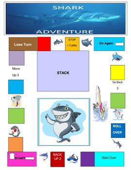 Shark Adventure Game
