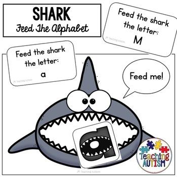 Shark Alphabet Recognition Game Shark Week