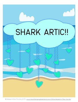 Shark Artic! Oral motor and articulation practice shark-themed activities