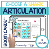 Shark Articulation Boom Cards™️ Speech Therapy   Sharks an
