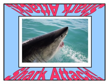 Shark Attack! A First 100 Fry Words Game