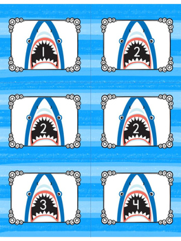 Shark Attack! {Addition within 20 Game}