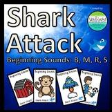 Shark Attack Beginning Sounds B, M, R, S