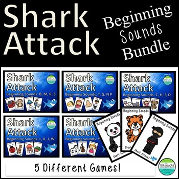 Shark Attack Beginning Sounds Bundle