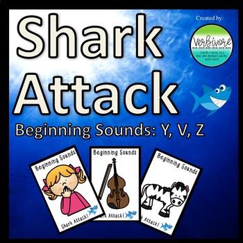 Shark Attack Beginning Sounds Y, V, Z