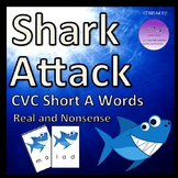 Shark Attack CVC Short A Words