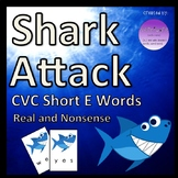 Shark Attack CVC Short E Words