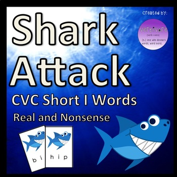 Shark Attack CVC Short I Words