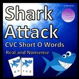 Shark Attack CVC Short O Words