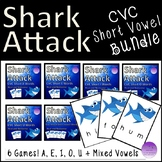 Shark Attack CVC Short Vowel Bundle