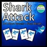 Shark Attack CVC Words + Final Blends