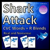 Shark Attack CVC Words + R Blends