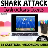 Shark Attack: Contractions Game
