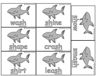 Shark Attack- Digraph Game (sh)