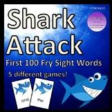 Shark Attack First 100 Fry Sight Words Bundle