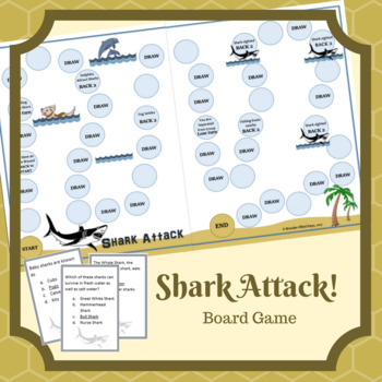 Shark Attack Game: Animal Classification Game