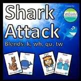 Shark Attack K, WH, QU, TW Blends