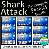 Shark Attack Letter Name Phonics Bundle