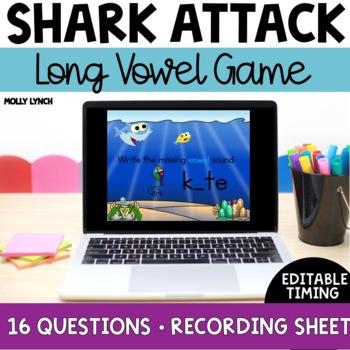 Shark Attack: Long Vowels