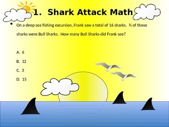 Shark Attack Math!