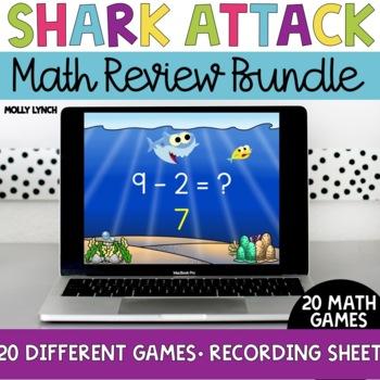 Shark Attack Math Bundle {GROWING BUNDLE!}