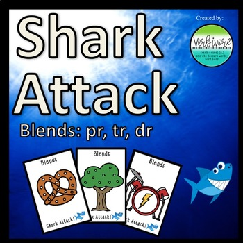 Shark Attack PR, TR, DR Blends