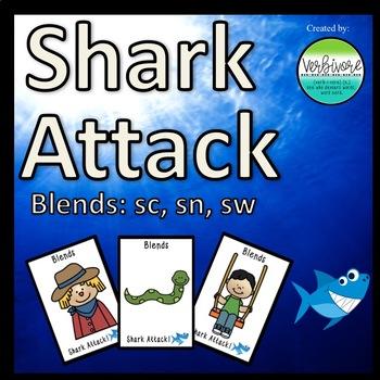 Shark Attack SC, SN, SW Blends